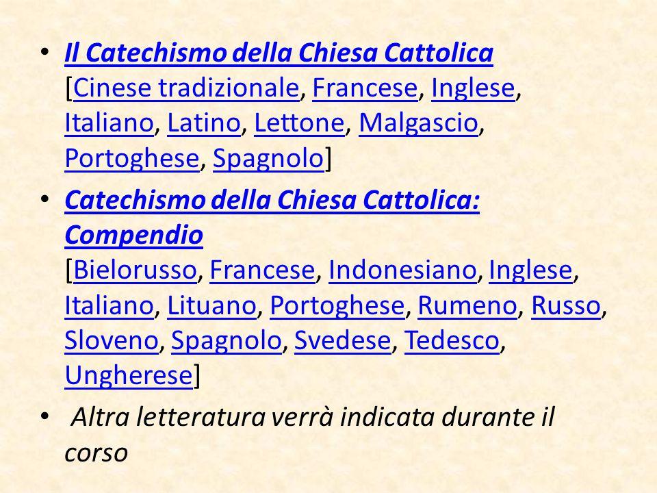 Il Catechismo della Chiesa Cattolica [Cinese tradizionale, Francese, Inglese, Italiano, Latino, Lettone, Malgascio, Portoghese, Spagnolo]